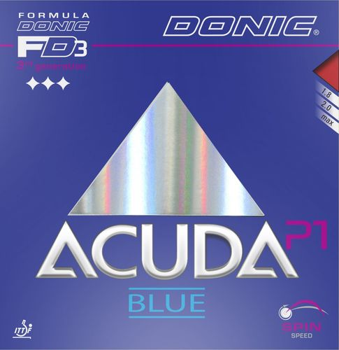 Donic Acuda Blue P1 - T110/E116/K83