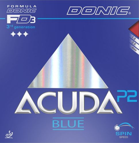 Donic Acuda Blue P2 - T106/E116/K86