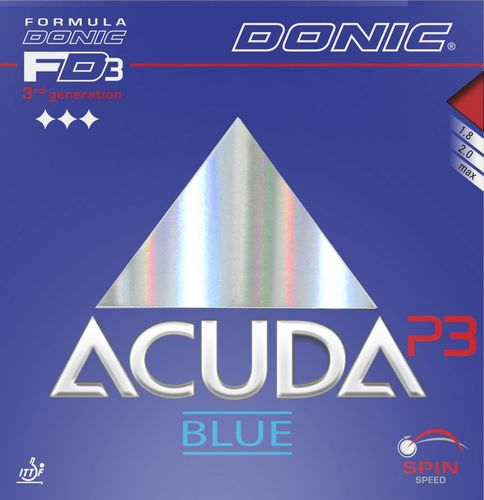 Donic Acuda Blue P3 - T102/E116/K89