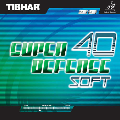 Tibhar Super Defense 40 Soft - T60/E105/K98