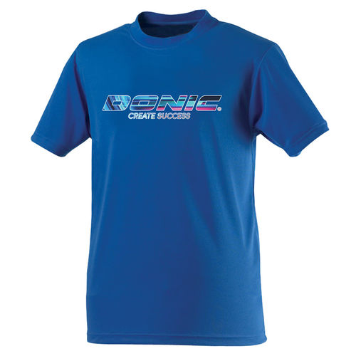 DONIC T-Shirt Promo Create Success - blau